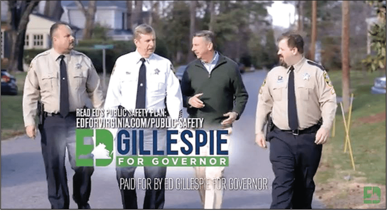 Sponsor line error sees Gillespie fined by Virginia's Board of Elections