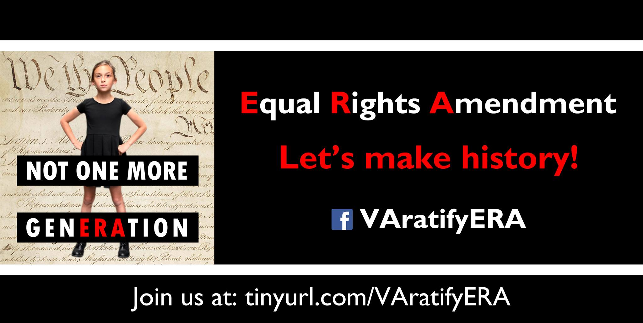 Urge Passage of the Equal Rights Amendment