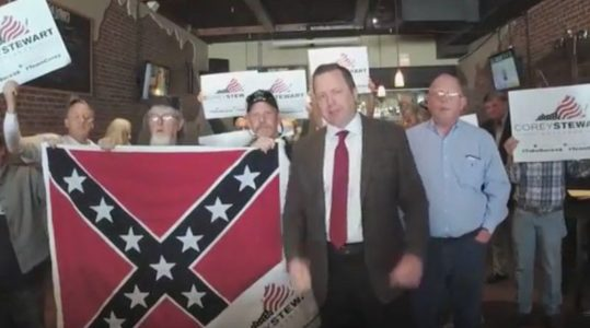 Corey Stewart pledges to be 'vicious'