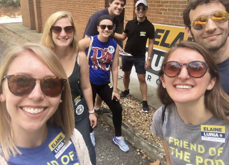 Young Dems Canvass in Williamsburg to Help Flip Virginia Blue