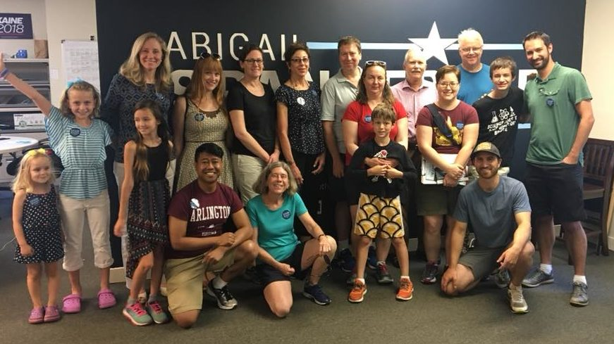 Beyond Arlington event for Abigail Spanberger