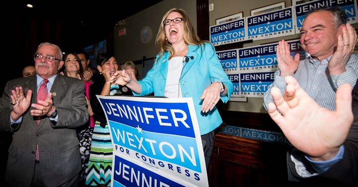 Arlington Dems Breakfast with Jennifer Wexton
