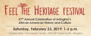 Feel the Heritage Festival @ Charles Drew Community Center | Arlington | Virginia | United States