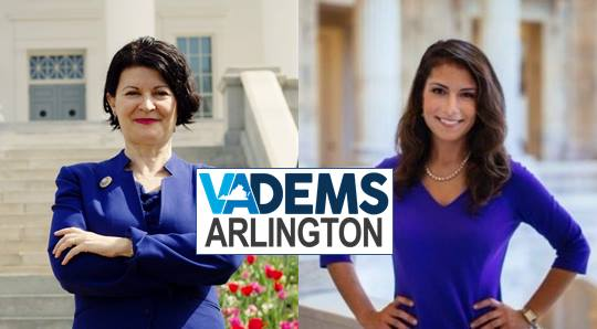 Arlington Dems Breakfast - State Senate Candidate Forum