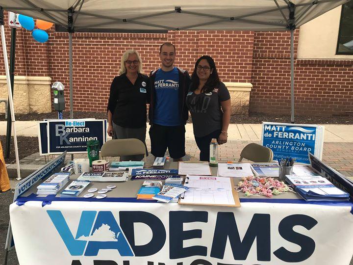 Arlington Dems Voter Registration Volunteer Training