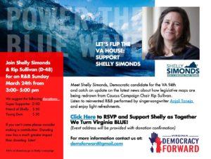 Let's Flip the VA House: Support Shelly Simonds