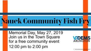 Memorial Day Fish Fry