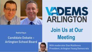 Candidate Debate - Arlington School Board @ NRECA | Arlington | VA | United States