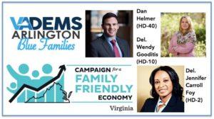 Blue Families 2019 Kickoff w/Family Friendly Economy VA