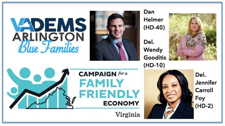 Blue Families 2019 Kickoff w/Family Friendly Economy VA