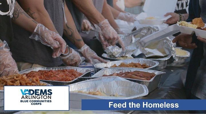 ArlDems Blue Community Corps: Prepare Meals for the Homeless