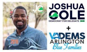 Kid-Friendly Canvass for Joshua Cole @ Arlington Dems | Arlington | VA | United States