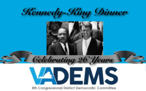 26th Annual Kennedy-King Dinner w/Congressmen Jim Clyburn & Don Beyer @ Doubletree by Hilton Crystal City | Arlington | Virginia | United States