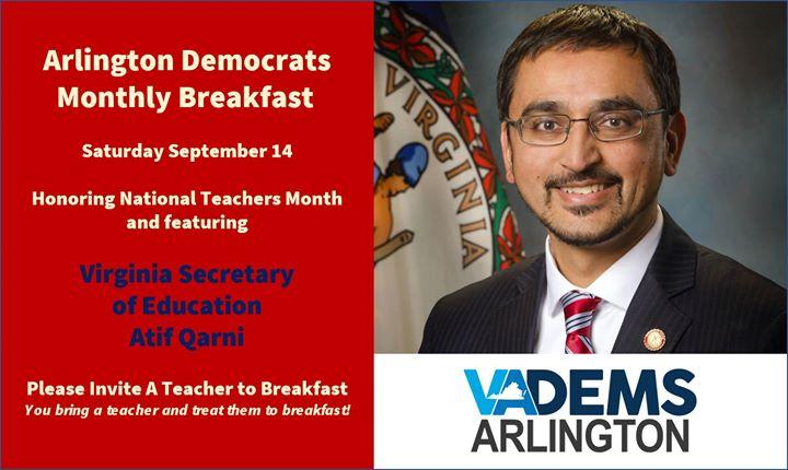 Arlington Dems - September Breakfast