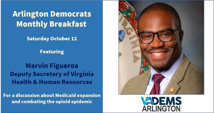 Arlington Dems - October Breakfast with Marvin Figueroa
