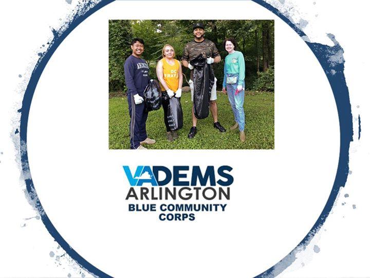 Blue Community Corps: Volunteer with Arlington Jaycees & AFAC