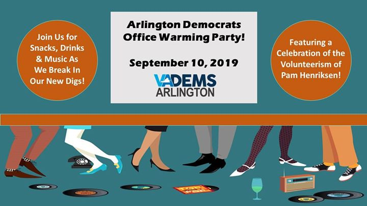ArlDems Office Warming Party!