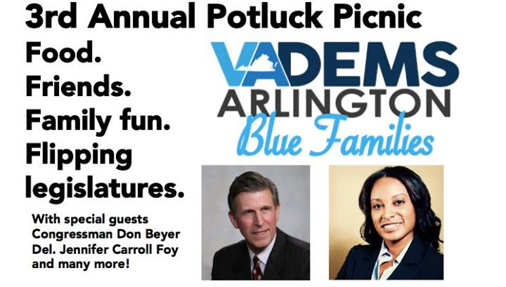 Arlington Blue Families Potluck Picnic