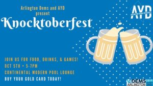 Knocktoberfest @ Continental Pool Lounge & Beer Garden | Arlington | VA | United States