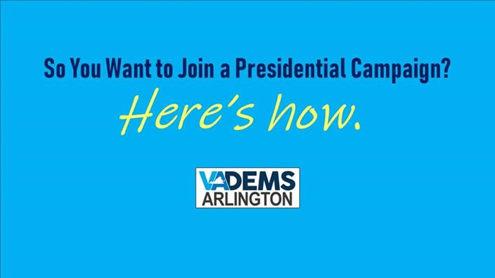 So You Want to Join a Dem Presidential Campaign? Here's How.