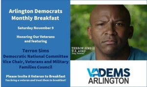 Arlington Dems - November Breakfast @ Busboys and Poets Shirlington | Arlington | VA | United States