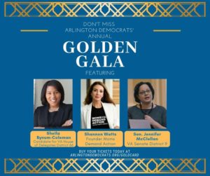 Arlington Dems Golden Gala @ Lyon Village Community House | Arlington | VA | United States