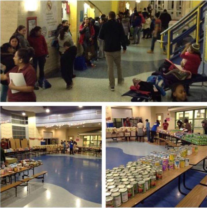 Blue Community Corps & Carlin Springs Elementary School