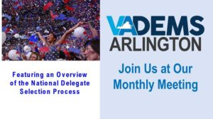 Arlington Dems Monthly Meeting @ Drew Model Elementary School | Arlington | VA | United States