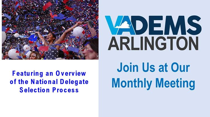 Arlington Dems Monthly Meeting