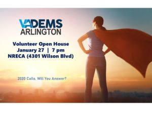 ArlDems New Volunteer Open House @ NRECA | Arlington | VA | United States