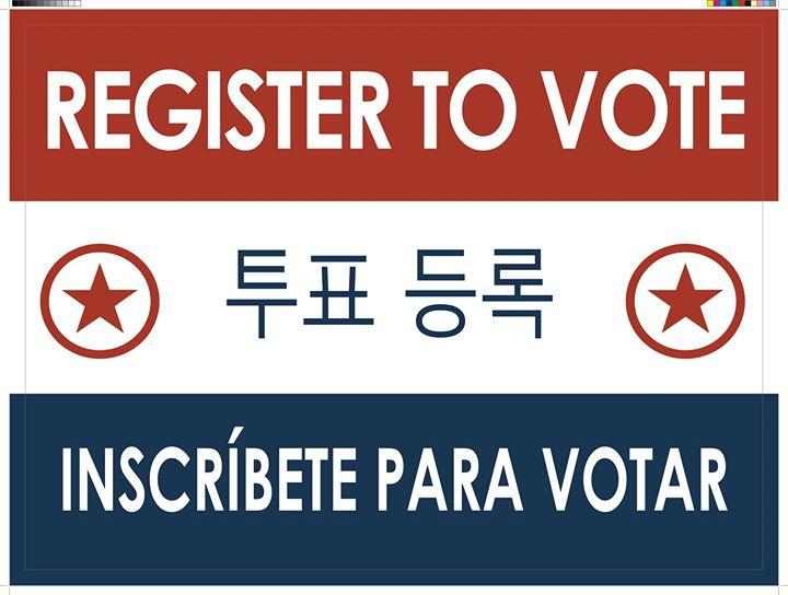 2020: Register Everyone!