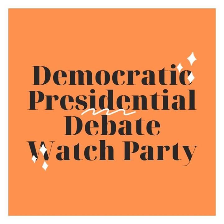 Arlington Dems Presidential Debate Watch Party (#9)