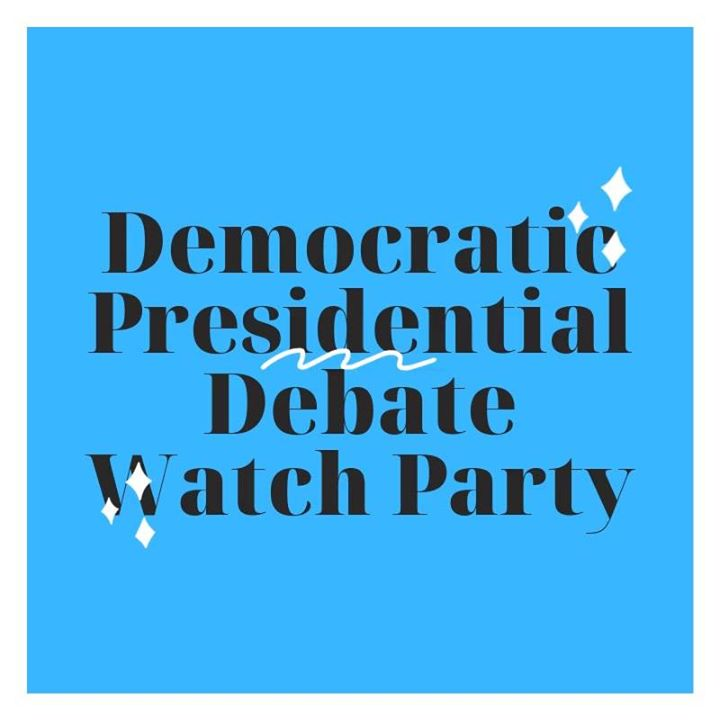 Arlington Dems Presidential Debate Watch Party (the 8th debate)