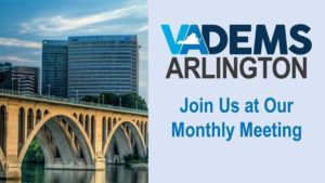 Arlington Dems Monthly Meeting (Online Only)