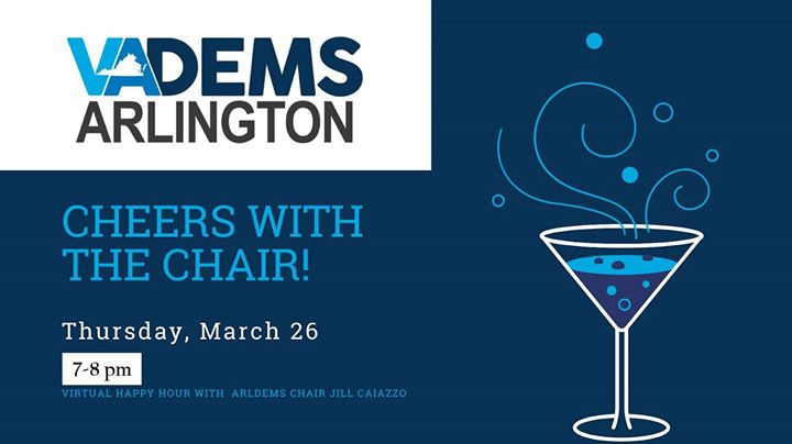 Cheers with the Chair - Virtual Happy Hour