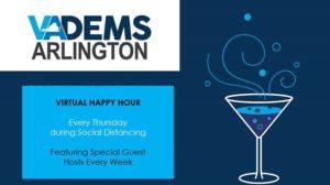 ArlDems Virtual Happy Hour! @ Arlington Dems | Arlington | VA | United States