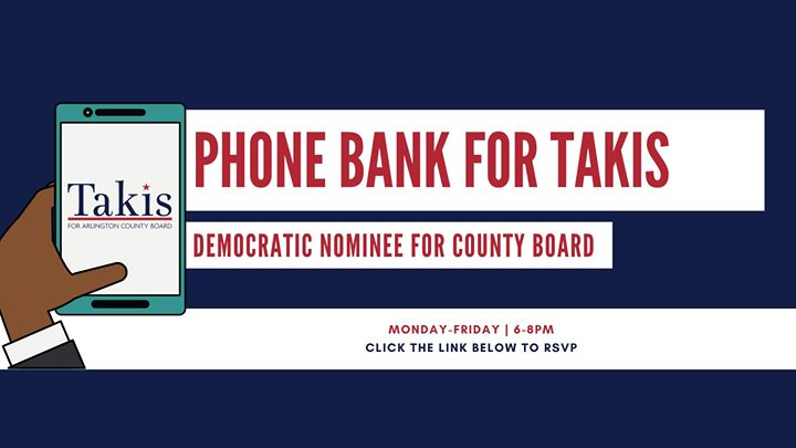 Phone Bank for Takis