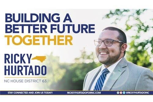 Help Flip the NC State Legislature - Meet Ricky Hurtado