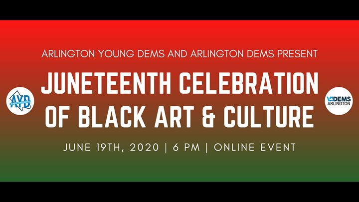 AYD & ARL Dems Juneteenth Celebration of Black Art & Culture