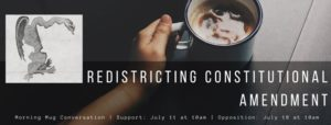 Morning Mug: Redistricting Amendment Conversation @ Arlington Dems | Arlington | VA | United States