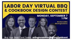 Arlington Dems Labor Day Virtual BBQ & Cookbook Design Contest @ Arlington Dems | Arlington | VA | United States