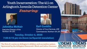 Youth Incarcerations: The 411 on Arlingtons Juvenile Detention Center @ Arlington, VA | Arlington | VA | United States