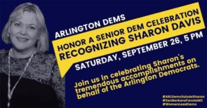 Arlington Dems: Honor a Senior Dem Event @ Arlington Dems | Arlington | VA | United States