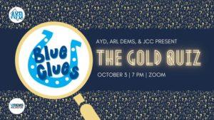 """AYD """"The Gold Quiz"""" Trivia Night"""