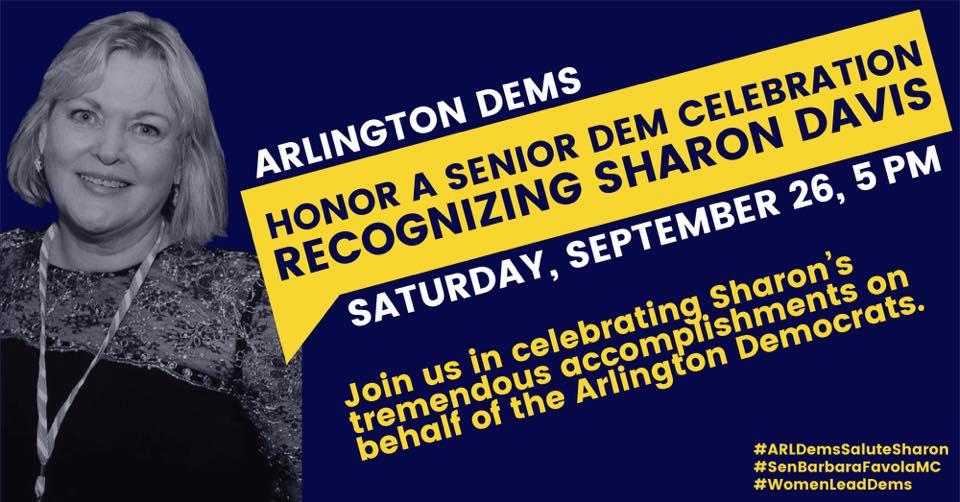 La congresista de Michigan Debbie Dingell se unirá a los demócratas de Arlington para honrar a la trabajadora de Capitol Hill y activista política demócrata Sharon Davis
