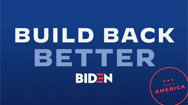 Terry McAuliffe – Building Back Better in a Biden-Harris Administration