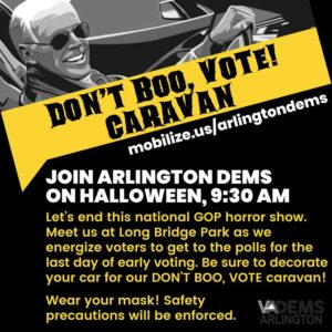 Don't Boo, Vote! Caravan @ Long Bridge Park | Arlington | VA | United States