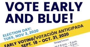 Campaign Lit Drop in Arlington!