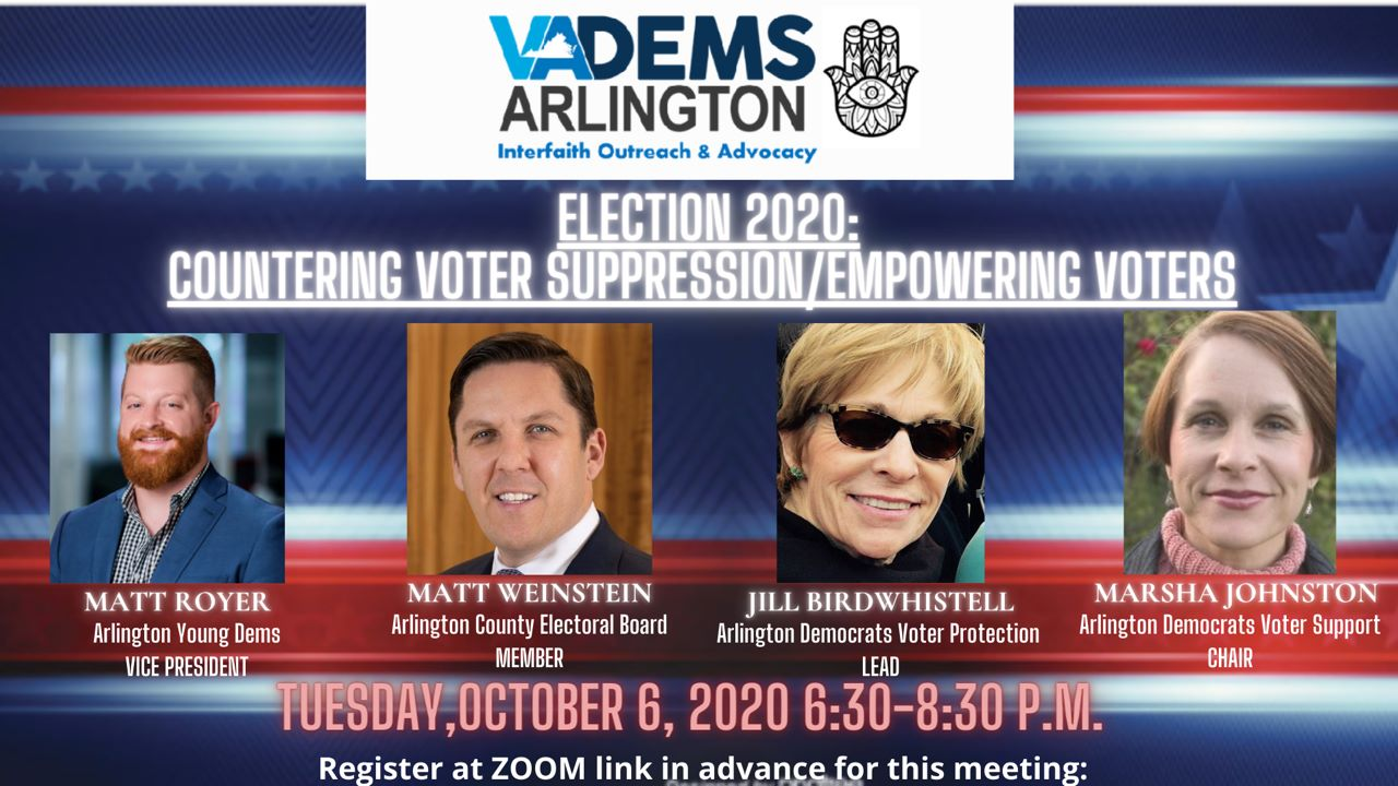 Issues-Based Forum on Countering Voter Suppression/Empowering Voters