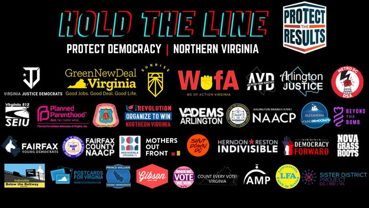Hold the Line - Northern Virginia/Protect the Results